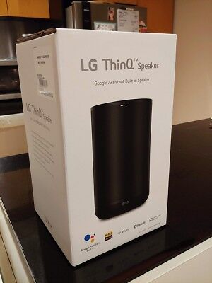 AU229 • Buy LG ThinQ Smart Speaker With Google Assistant - BRAND NEW