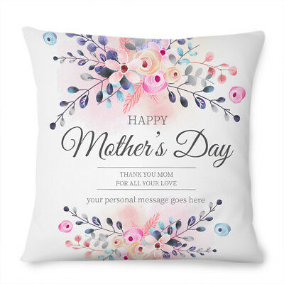 Personalised Mothers Day Love Cushion Cover Pillow Cute Gift Mum Mom Her  • 12.99£