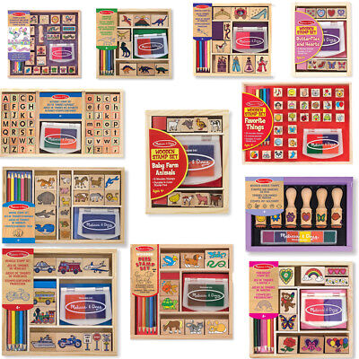 Stamp School Sets Kids Role Play Children Learning Toys - Melissa & Doug  • 9.99£