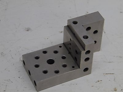 $254.99 • Buy COMPOUND ANGLE PLATE ANGLE MACHINIST PRECISE INSPECTION GRINDER USED Nice
