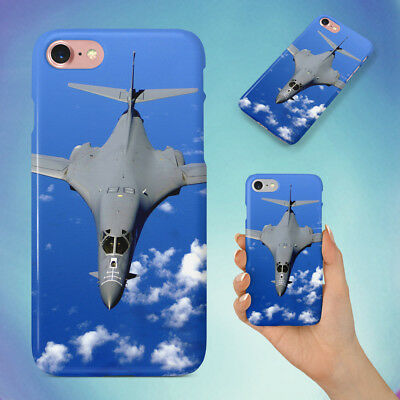 AU12.95 • Buy Black Fighter Jet Near White Clouds Hard Back Case For Apple Iphone Phone