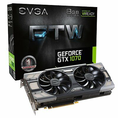$ CDN393.89 • Buy EVGA GeForce GTX 1070 FTW Gaming ACX 3.0 8GB Video Card