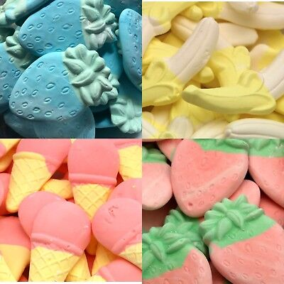 Foam Novelty Sweets (large) * Ice Cream Cones * Raspberry * Strawberry * Candy • 10.99£