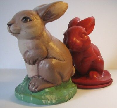 Z7133 Sitting Rabbit - Rubber Latex Moulds By MouldMaster • 9.50£