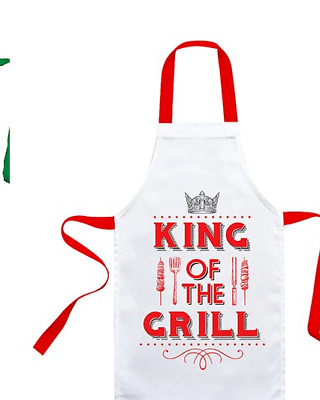 Aprons Best Cook Aprons Novelty Mens/ Ladies Apron Gin, Wine, King Of The Grill  • 7.99£