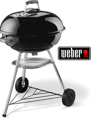 $ CDN327.54 • Buy Weber 57cm Bbq Grill Stainless Steel Cooking Grate Charcoal Kettle Barbecue