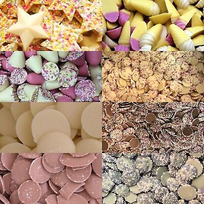 Chocolate - Jazzles * Snowies * Candy Cones * Stars * Buttons * Spinning Tops • 3.19£