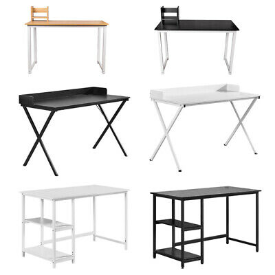 Modern Computer Desk Study Table PC Laptop Workstation Home Office File Cabinets • 76.99£
