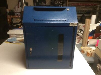 $250 • Buy DVault Locking Collection Box. Counter/Floor. Sharps, Medical, Mail, Key Drop