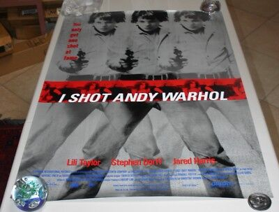 $25 • Buy I Shot Andy Warhol Original Movie Poster  - 1996