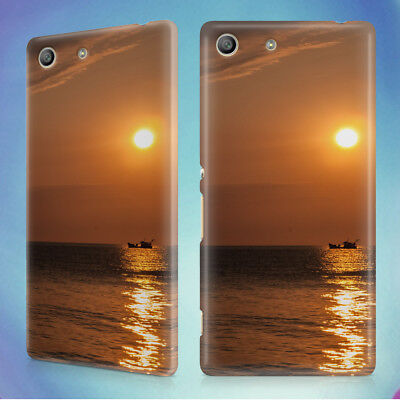 AU12.95 • Buy Sea Sunset Boat Hard Back Case For Sony Xperia Phones