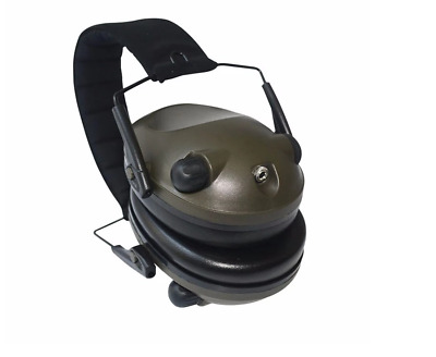 Electronic  Slimline Ppe Shooting Ear Defenders Adjustable Tapered Cup • 32.95£