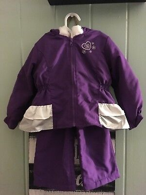 $8.50 • Buy Freestyle Revolution Penny M Pants Suit 2T Purple