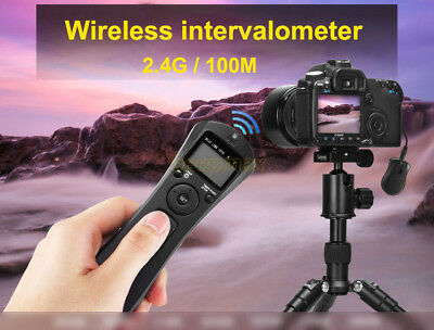 Wireless Remote Shutter Release W/Cable For Canon EOS 700D 650D 600D 60D 1100D • 22.59£