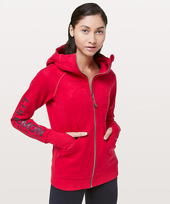 $ CDN191.14 • Buy NEW *SOLD OUT* Lululemon Scuba Hoodie 20Y Collection Cotton Fleece Red Sz 2