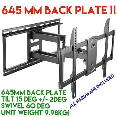 AU148.50 • Buy TV Bracket Wall Mount Swivel 42-70 Inches Full Motion LCD MATCHMASTER 04MM-TB08