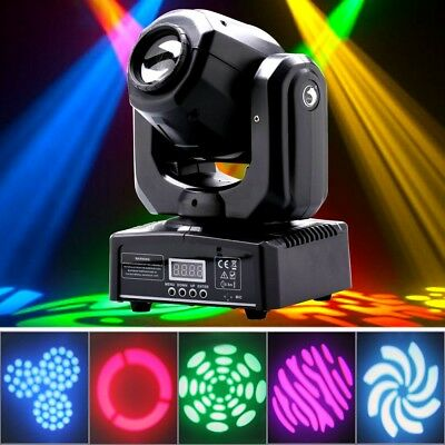 U`king 60W RGBW Stage Light LED Spot Moving Head DMX Disco DJ Party GOBO Light • 64.99£