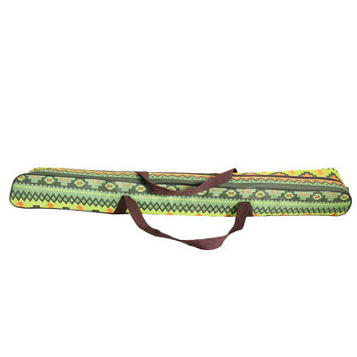 AU19.51 • Buy Tent Pole Bag Camping Tarp Awning Holder Bag Chinese Ethnic Type Green 125cm
