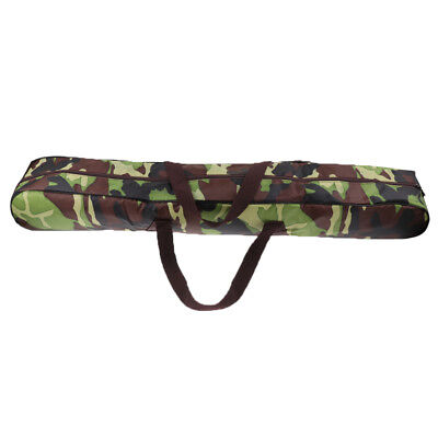 AU21.35 • Buy Camping Tent Pole Storage Bag Outdoor Canopy Awning Rod Carry Bag Camo 98cm