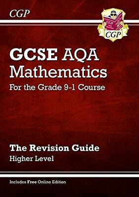£7.40 • Buy GCSE Maths AQA Revision Guide: Higher - For The Grade 9- By C G P Books New Book