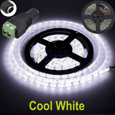 $8.84 • Buy 16ft Cool White 5630 Super Bright Waterproof LED Strip Light DC12V 5A W/3M Tape
