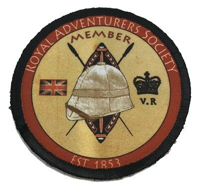 $7.99 • Buy Royal Adventurers Society Morale Patch Tactical Military Army Badge British