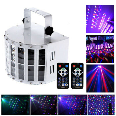 30W Sound Active LED Laser Stage LightS Effect RGB Show Disco DJ Party Bar Light • 37.79$