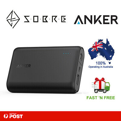 AU49.95 • Buy Anker PowerCore 10000mAh 2.4A Portable Charger 1Port Astro Battery Power Bank AU