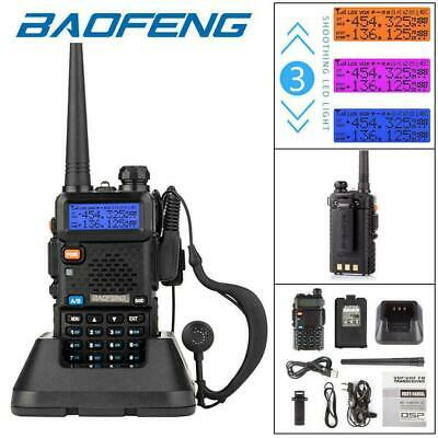 2020 BAOFENG UV-5R VHF/UHF Dual Band Two Way Ham Radio Walkie Talkie Transceiver • 18.89£