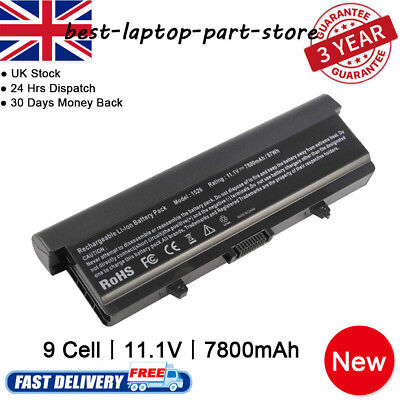 9CELL Battery For Dell Inspiron 1525 1526 1440 1545 1546 1750 GW240 X284G 11.1V • 14.99£
