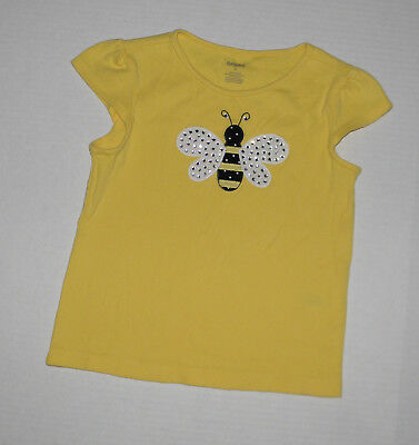 $10.99 • Buy Gymboree Bee Chic Yellow Bumble Bee Top Summer Girls 5  Cotton Summer