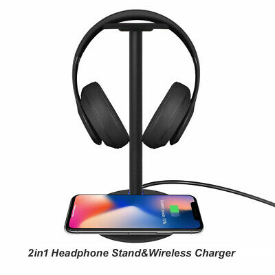 AU29.99 • Buy Wireless Charger+Headphone Earphone Headset Stand Holder For Samsung Galaxy S20
