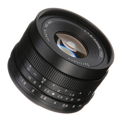 $ CDN113.01 • Buy Manual Focus MF 50mm F/1.8 Fixed Camera Lens For Sony E-mount A6500 A6300 A6000
