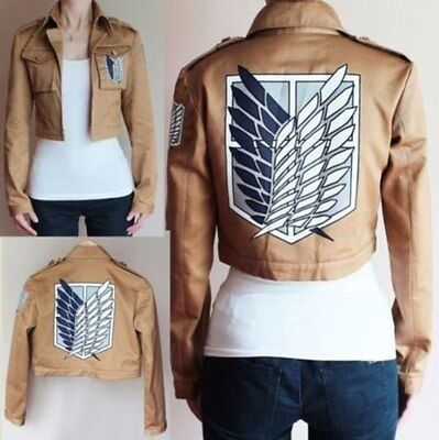 AU20.19 • Buy Attack On Titan Survey Corps Wings Of Freedom Coat Cosplay Costume,Jacket Only