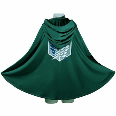 AU17.17 • Buy Attack On Titan Survey Corps Wings Of Freedom Cloak Cape Cosplay Costume