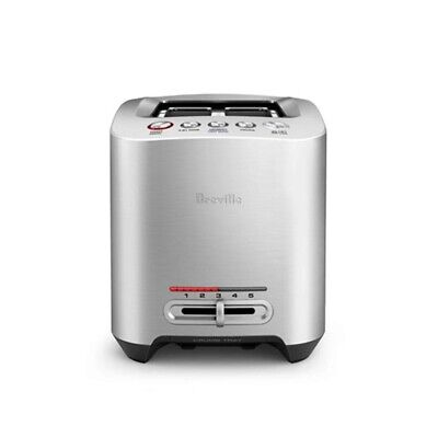 AU139.99 • Buy Breville The Smart Toaster Stainless Steel 2 Slice Brand New