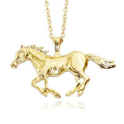 AU5.12 • Buy Fashion Necklace For Women Silver/Gold Jewelry Running Horse Pendant Necklace