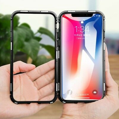 AU11.89 • Buy IPhone X XS MAX XR Case Metal Luxury Thin Slim Shockproof Cover For Apple