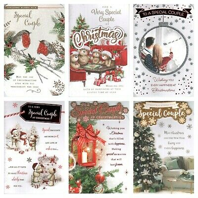 Special Couple Christmas Card ~ With Love To A Special Couple ~ Choice Of Design • 2.39£
