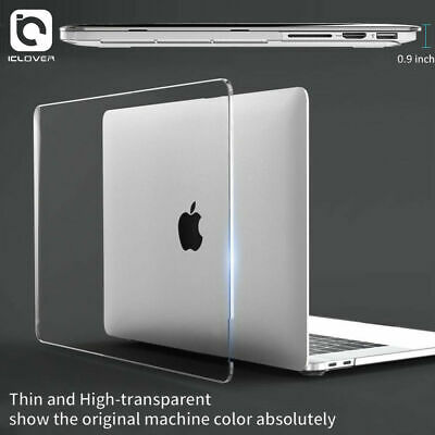 $14.97 • Buy Macbook Pro 13  A2159 A2289 2020 2019 Clear Full Body Shell Case Keyboard Cover