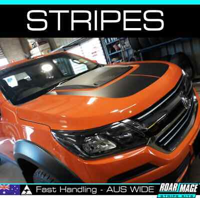 AU115 • Buy 2015-2020 HOLDEN Colorado Bonnet Scoop Stripes Decals Stickers Decal Sticker Z71