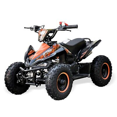 Kids Quad Bike Falcon 49cc Big 6  Tubeless Tyre Safety Switch Hydraulic Brake Og • 379.99£
