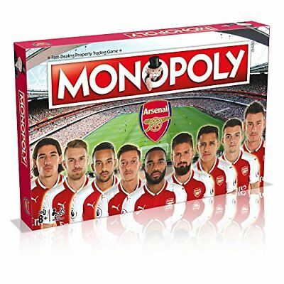 £22.99 • Buy Winning Moves Arsenal FC Monopoly Board Game New Sealed