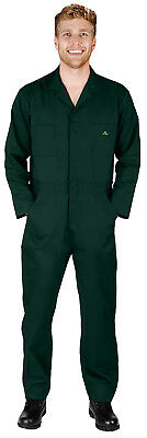 $36.90 • Buy Mens LS Coverall Overall Boilersuit Mechanic Protective Work Wear Regular & Tall