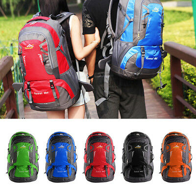 AU28.99 • Buy 60L Hiking Backpack Waterproof Trekking Rucksack Sport Daypack School Bag