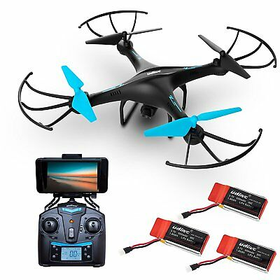 AU152.05 • Buy Force1 U45WF Blue Jay WiFi FPV Quadcopter Drone With HD Camera 720P Video Live