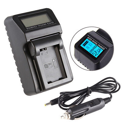 $ CDN25.85 • Buy Wall/CAR LCD Battery Charger For Sony NP-FW50 A6300 A6000 A7 II A7R NEX7 USB