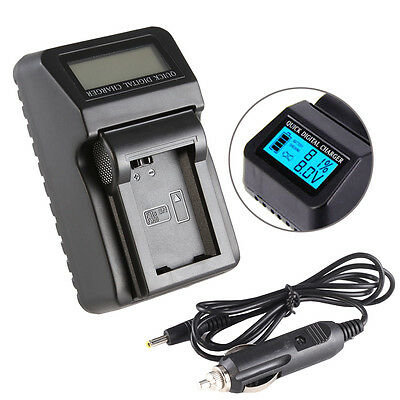 $ CDN25.37 • Buy Wall/CAR LCD Battery Charger For Sony NP-FW50 A6300 A6000 A7 II A7R NEX7 USB