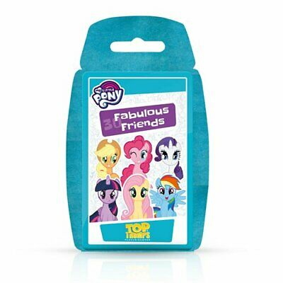 Top Trumps My Little Pony Special Flocked Pack Family Card Game New Sealed • 3.99£