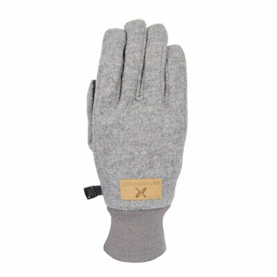 Extremities Igneous Wool Mix Waterproof Gloves - Grey Marl • 32.99£